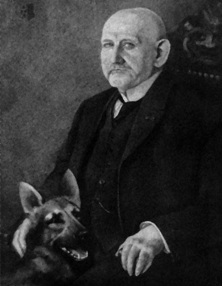 Макс фон Штефаниц прародителем современных немецких овчарок