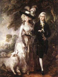 В Англии в восемнадцатом веке шпицы стали весить до 9-ти кг