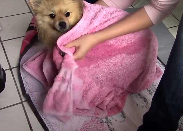 Уютное и мягкое полотенце